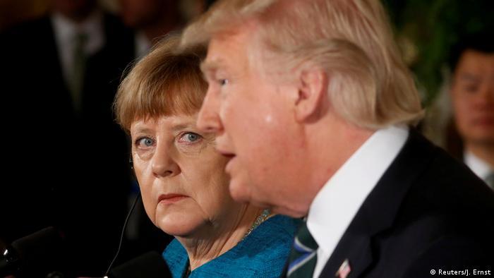 Анґела Меркель вперше зустрілась з Дональдом Трампом з часу його обрання президентом