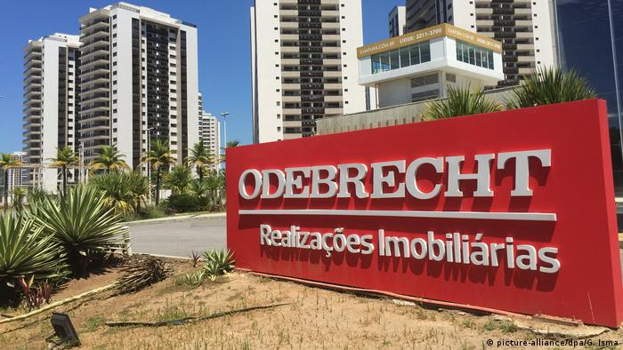 Brasilien Baufirma Odebrecht (picture-alliance/dpa/G. Isma)