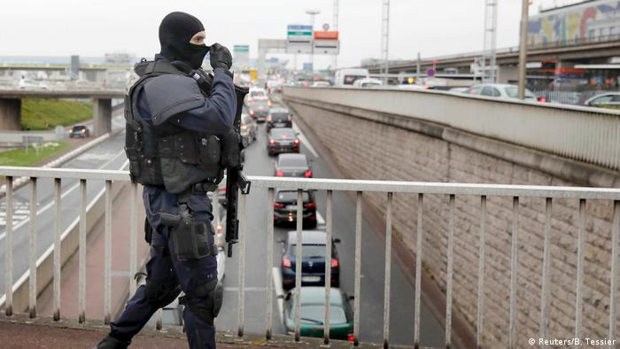 Police at Orly airport