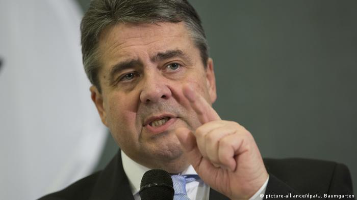 Зіґмар Ґабріель, міністр ФРН
