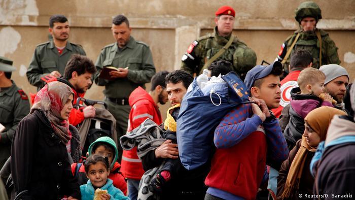 Syrien Stadt Homs Evakuierung (Reuters/O. Sanadiki)