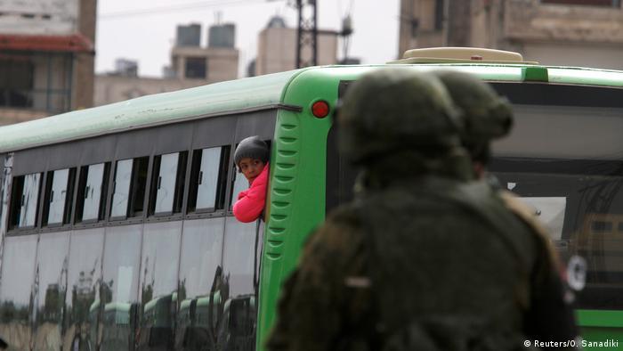 Эвакуация повстанцев