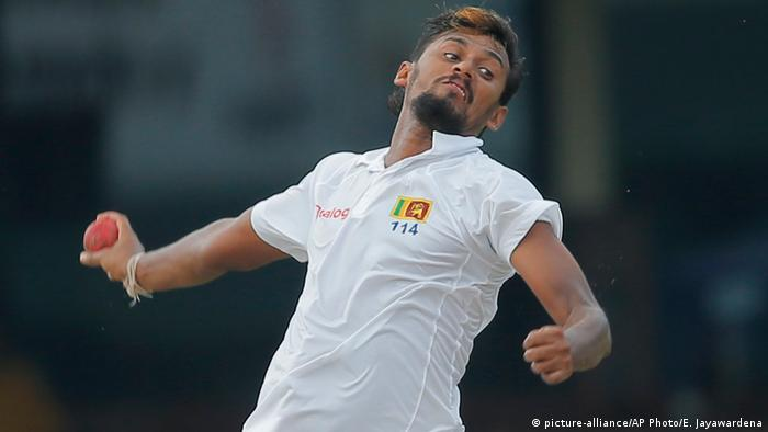 Sri Lanka Cricket-Testspiel in Colombo - Sri Lanka vs. Bangladesch (picture-alliance/AP Photo/E. Jayawardena)