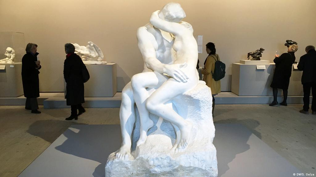 The Kiss Rodin Sculpture Abstract Art