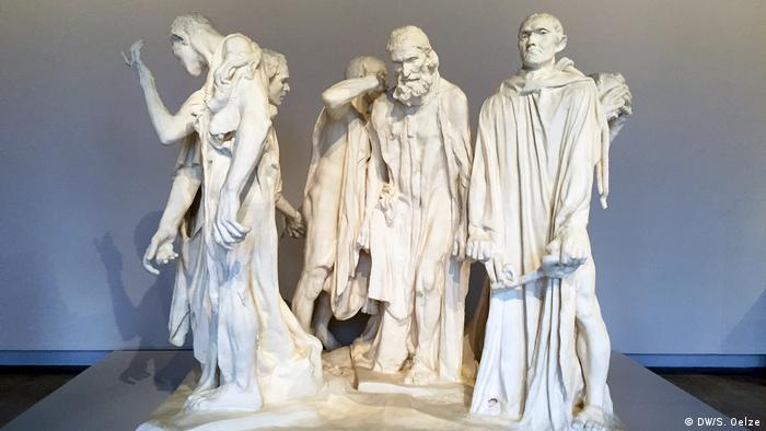 Sculpture of five men (DW/S. Oelze)
