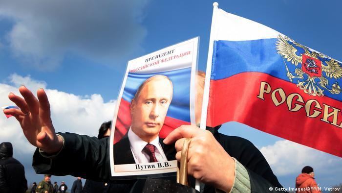 Autonome Republik Krim Feier zum 3. Jahrestag der Krim in Sewastopol (Getty Images/AFP/M. Vetrov)