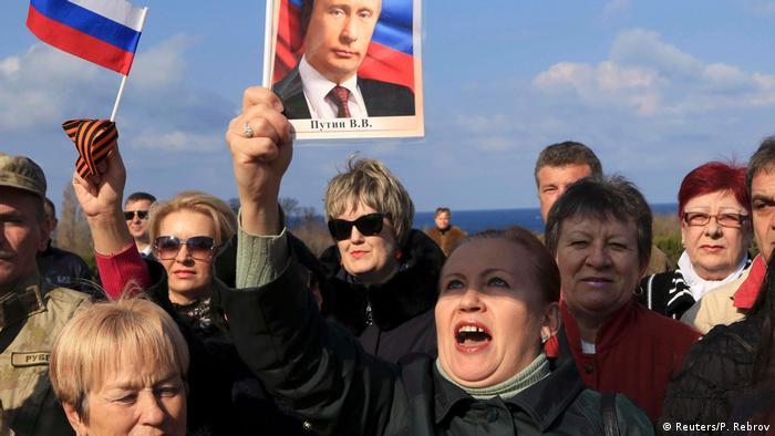 Autonome Republik Krim Feier zum 3. Jahrestag der Krim in Sevastopol (Reuters/P. Rebrov)