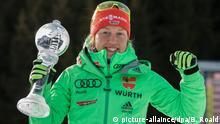 Norwegen Biathlon-Weltmeisterin Laura Dahlmeier in Oslo