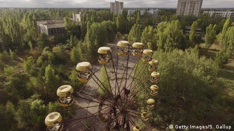 Ukraine Riesenrad in Tschernobyl (Getty Images/S. Gallup)
