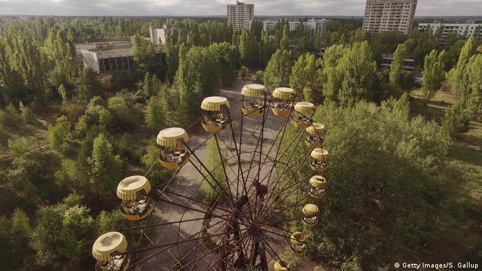 Ukraine Riesenrad in Tschernobyl (Getty Images/S. Gallup)
