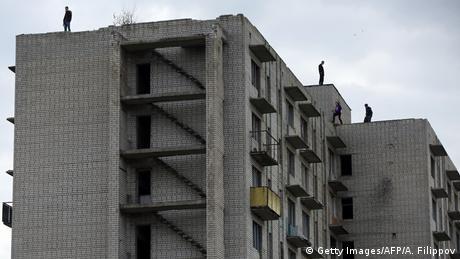 Geisterstadt Ukraine Orbita (Getty Images/AFP/A. Filippov)