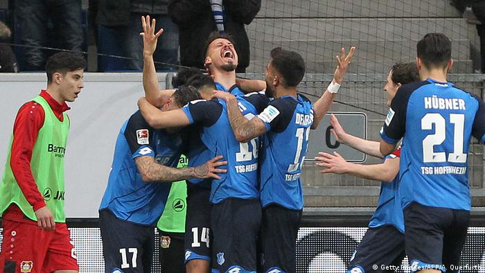 Deutschland TSG 1899 Hoffenheim vs Bayer 04 Leverkusen (Getty Images/AFP/A. Querfurth)