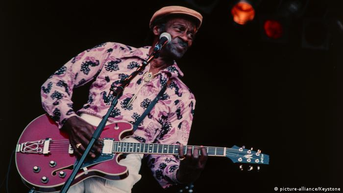Schweiz Chuck Berry Out in the Green Openair (picture-alliance/Keystone)