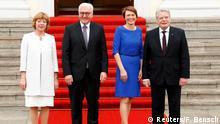 Deutschland Schloss Bellevue Amtsübernahme Bundespräsident