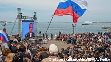 Autonome Republik Krim Feier zum 3. Jahrestag der Krim in Sewastopol
