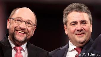 Ο Ζ. Γκάμπριελ παρέδωσε την ηγεσία του SPD στον Μ. Σουλτς