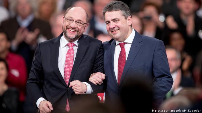 Зіґмар Ґабріель, Мартін Шульц, СДПН, вибори, Бундестаг, канцлер
