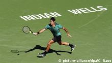 USA ATP Turnier Indian Wells Roger Federer (picture-alliance/dpa/C. Baus)