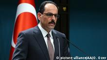 Turkish presidential spokesperson Ibrahim Kalin (picture-alliance/AA/O. Ozer)