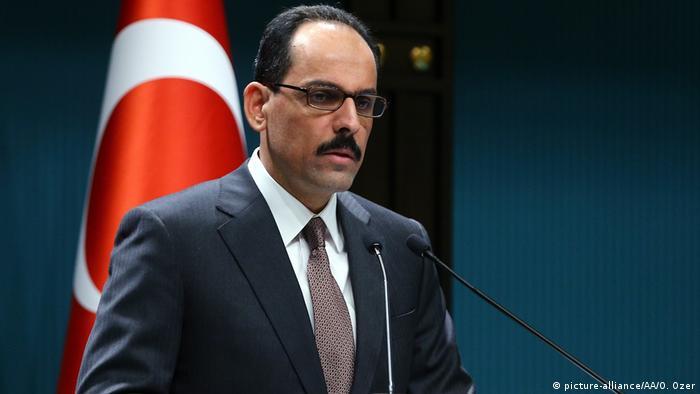 المتحدث باسم الرئاسة التركية ابراهيم كالين