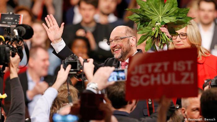 Deutschland Martin Schulz zum neuen SPD-Chef gewählt