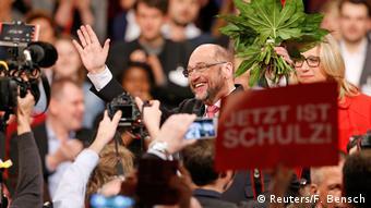 Deutschland Martin Schulz zum neuen SPD-Chef gewählt (Reuters/F. Bensch)