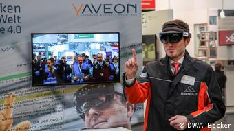 Deutschland Cebit in Hannover - Augmented Reality