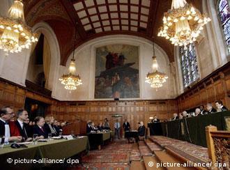 В Гаагском трибунале