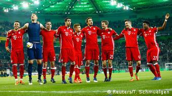 Deutschland Borussia Mönchengladbach v Bayern München