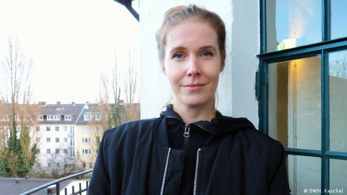 Deutschland Treffen des Netzwerks Schmalbart in Hamburg   Daniela