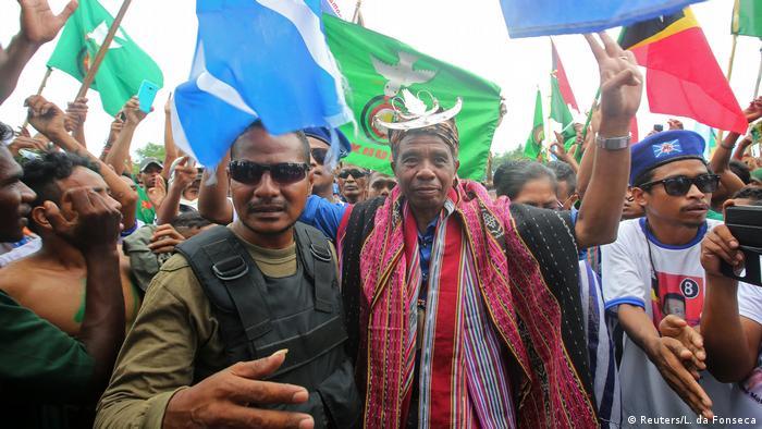 Ost-Timor Präsidentschaftswahlen Antonio da Conceicao