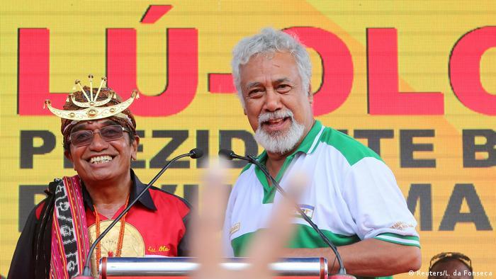Ost-Timor Präsidentschaftswahlen Francisco Guterres