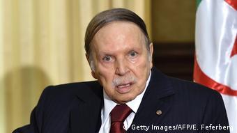 Algerien Präsident Abd al-Aziz Bouteflika