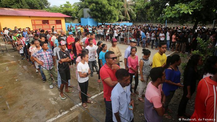 Osttimor Präsidentschaftswahl