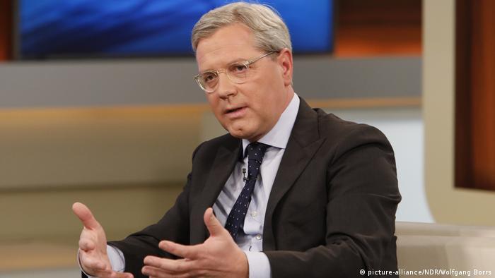 TV-Sendung Anne Will, Gast Norbert Röttgen, CDU