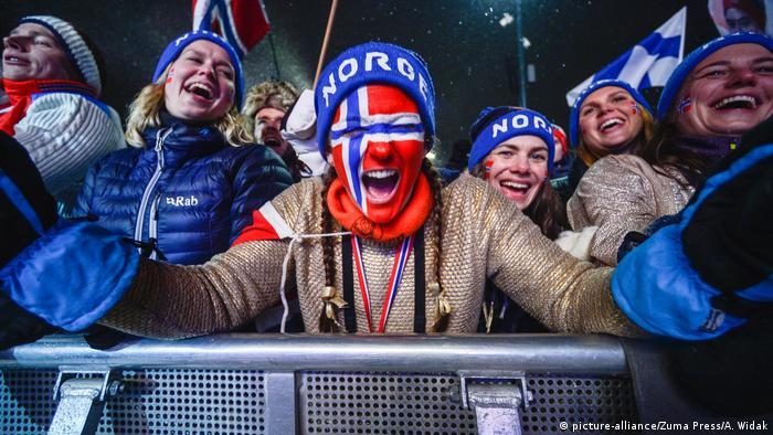 FIS Nordic World Ski Championships | Fans Norwegen (picture-alliance/Zuma Press/A. Widak)