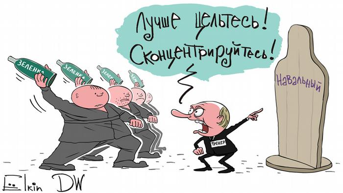 Sergei Elkin zum Thema Navalny öffnet seinen Wahlstab