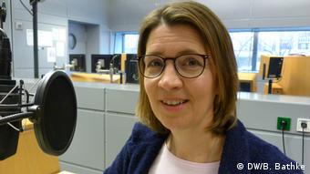 DW Mitarbeiterin - Anke Rasper for World in Progress (DW/B. Bathke)