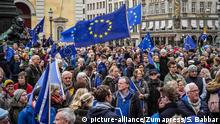 Pulse of Europe - Demonstration München