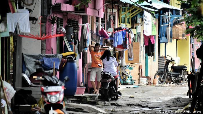Indonesien Jakarta Tongkol - Bemühungen um umweltfreundliches Leben (Getty Images/AFP/B. Ismoyo)