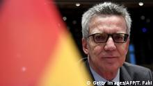 Italien Treffen Innenminister zum Thema Migration | Thomas de Maizière