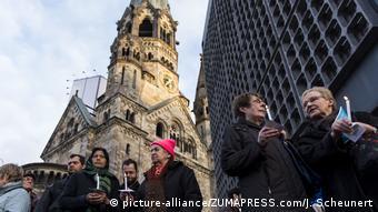 Deutschland Gebete am Breitscheidplatz