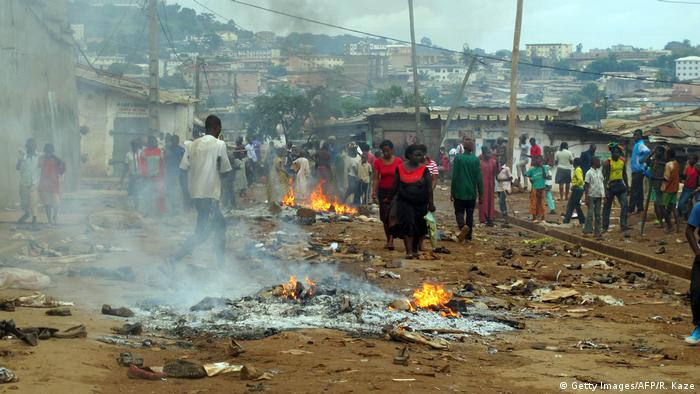 Clashes in Yaounde in 2012
