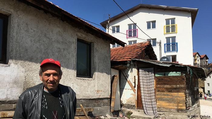 Bosnien Herzegowina EU-finanziertes Projekt Roma Action in Kakanj (DW/A. Feilcke)
