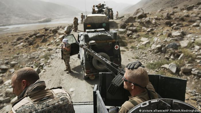 ISAF Soldaten Afghanistan (picture alliance/AP Photo/A.Niedringhaus)