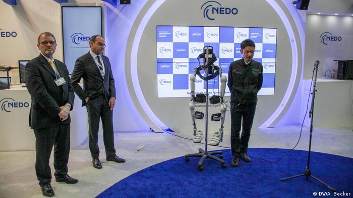 Cebit 2017 - japanischen Firma Nedo (DW/A. Becker)