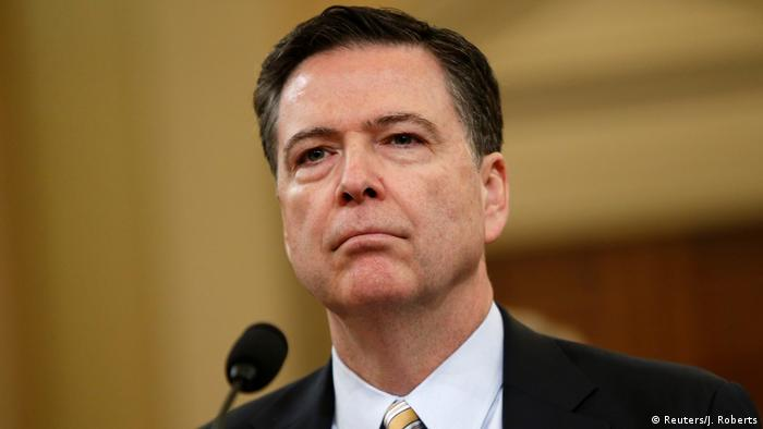 USA James Comey FBI Director Anhörung in Washington (Reuters/J. Roberts)