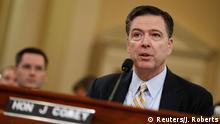 Washington FBI-Chef Comey vor Geheimdienst-Ausschuss des US-Repräsentantenhauses