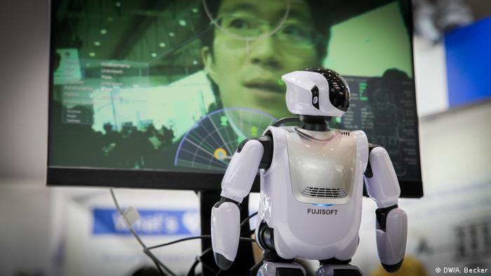 Cebit 2017 – Roboter von Fuji-Works (DW/A. Becker)