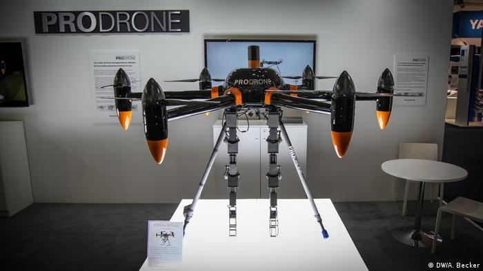 Cebit 2017 – Prodrone aus Japan (DW/A. Becker)